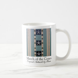 March of the Cones mug