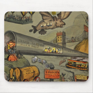 March of the intellect mouse pad