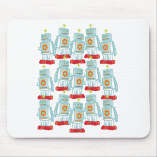 March of the robots mouse pad