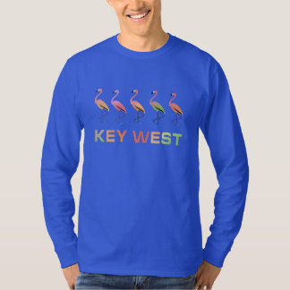 March of the Tropical Flamingos KEY WEST T-Shirt