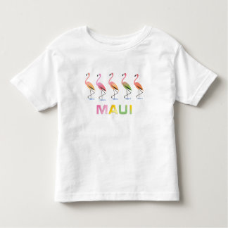 March of the Tropical Flamingos MAUI Toddler T-shirt