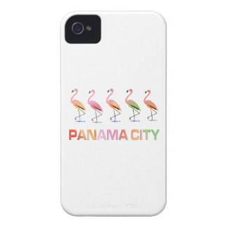 March of the Tropical Flamingos PANAMA CITY iPhone 4 Case-Mate Case