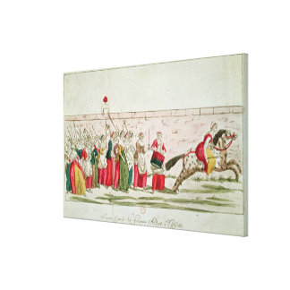 March of the Women on Versailles Canvas Print