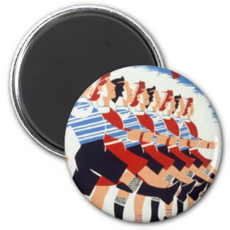 March on tho health 2 inch round magnet