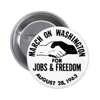 March on Washington 1963 Button