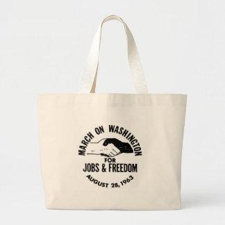 March on Washington 1963 Jumbo Tote Bag