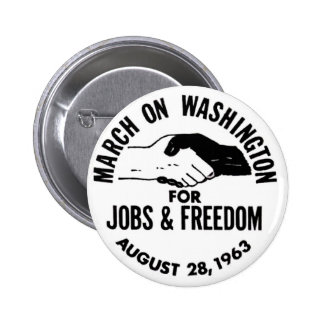 March on Washington 1963 Pinback Buttons