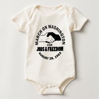March on Washington Baby Bodysuit