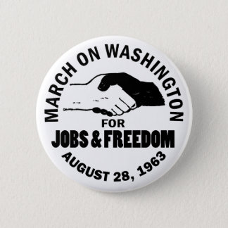 March on Washington Pinback Button
