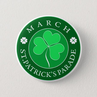 March Patrick Parade Button