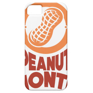 March - Peanut month - Appreciation Day iPhone SE/5/5s Case