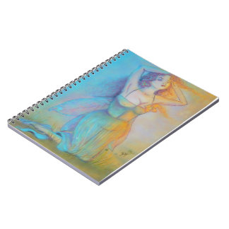 March Spring Fairy Notebook
