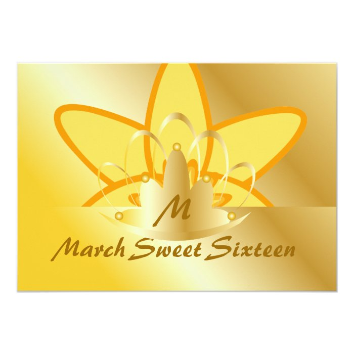 March Sweet Sixteen-Customize Card