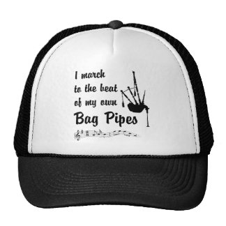 March to the Beat: Bag Pipes Trucker Hat
