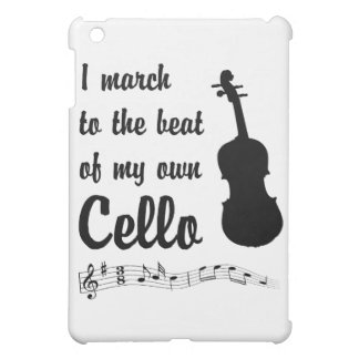 March to the Beat: Cello iPad Mini Covers