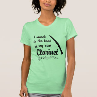 March to the Beat: Clarinet Tee Shirts