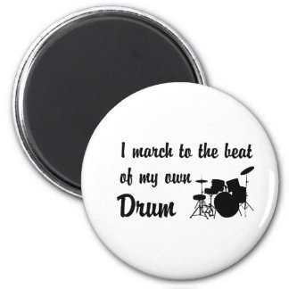 March to the Beat: Drum Magnet