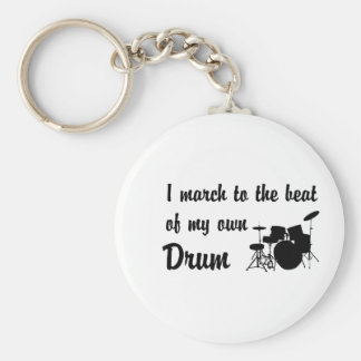 March to the Beat: Drums Keychain