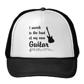 March to the Beat: Guitar Trucker Hat
