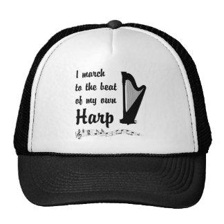 March to the Beat: Harp Trucker Hat