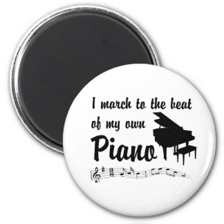 March to the Beat: Piano Magnet