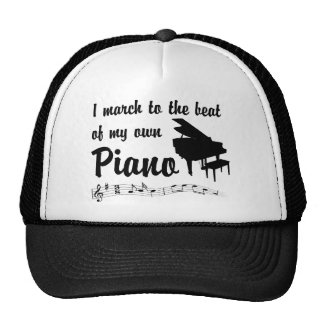 March to the Beat: Piano Trucker Hat