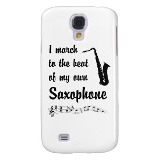 March to the Beat: Saxophone Samsung S4 Case
