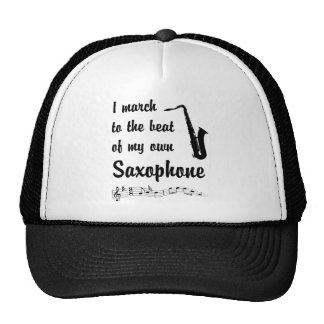 March to the Beat: Saxophone Trucker Hat