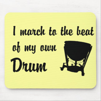 March to the Beat: Timpani Mouse Pad