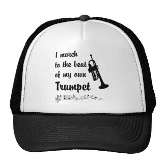 March to the Beat: Trumpet Trucker Hat