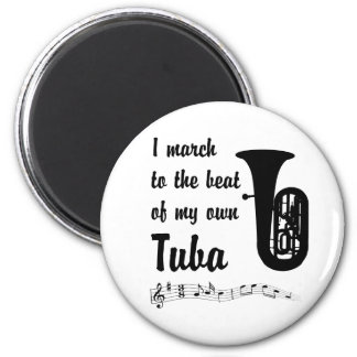 March to the Beat: Tuba Magnet
