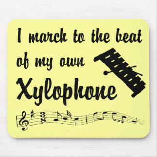 March to the Beat: Xylophone Mouse Pad