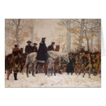March to Valley Forge - William Trego  (1883) Greeting Cards