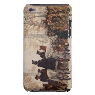 March to Valley Forge - William Trego (1883) iPod Touch Cover