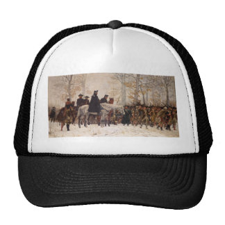 March to Valley Forge - William Trego  (1883) Trucker Hat