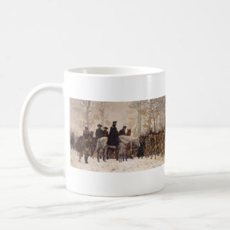 March to Valley Forge - William Trego  (1883) Classic White Coffee Mug