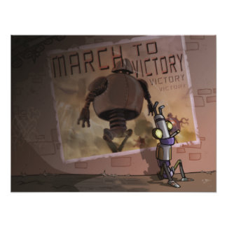 March to Victory Print