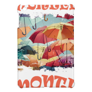 March - Umbrella Month - Appreciation Day iPad Mini Case
