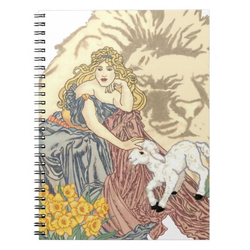 March Winds Spiral Notebook