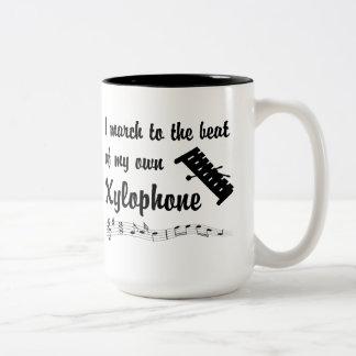 March: Xylophone Two-Tone Coffee Mug