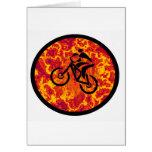 Marcha alta de la bici felicitaciones