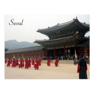 marcha de Seul del palacio Postal