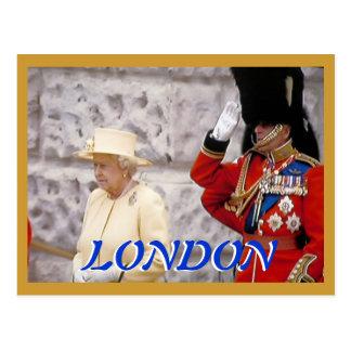 Marchando la postal del jubileo de diamante de los