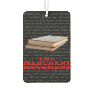 Marchant or Bust! Air Freshener