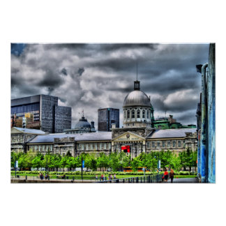 Marché Bonsecours Poster