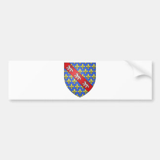 Marche (France)  Coat of Arms Bumper Sticker
