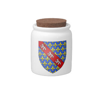 Marche (France)  Coat of Arms Candy Dish