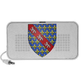 Marche (France)  Coat of Arms iPhone Speaker