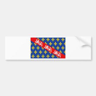 Marche (France) Flag Bumper Sticker