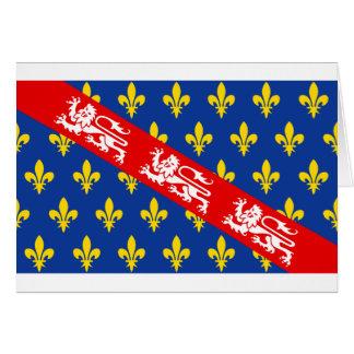 Marche (France) Flag Card